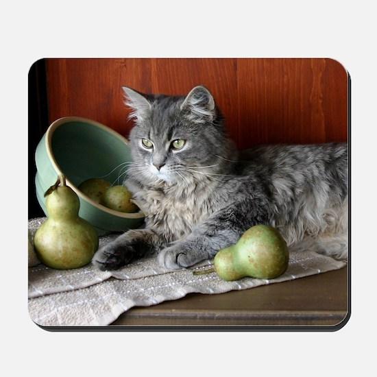 Blue Tabby Kitten Mousepad