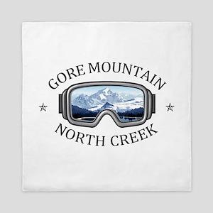 Gore Mountain - North Creek - New Yo Queen Duvet
