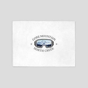 Gore Mountain - North Creek - New 5'x7'Area Rug