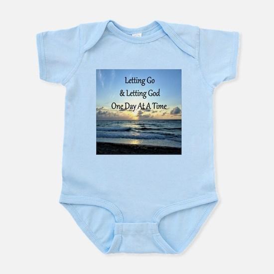LET GO LET GOD Infant Bodysuit