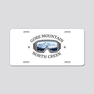 Gore Mountain - North Cre Aluminum License Plate