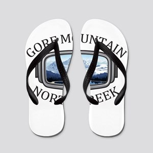 Gore Mountain - North Creek - New Yor Flip Flops