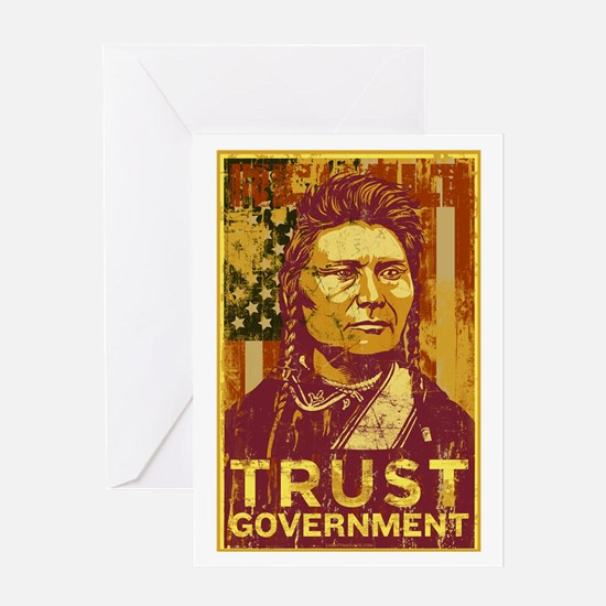 Trust Government Greeting Card