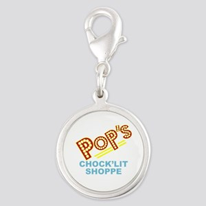 Riverdale Pops Silver Round Charm