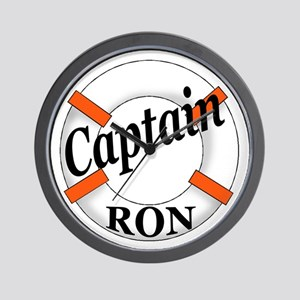 Captain Ron Wall Clock