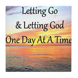 Let Go Let God Coasters Cafepress