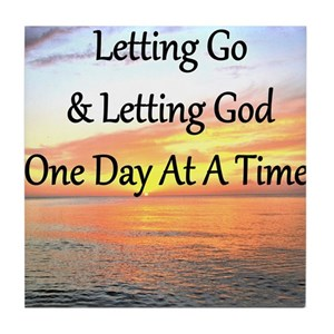 Let Go Let God Coasters Cafepress