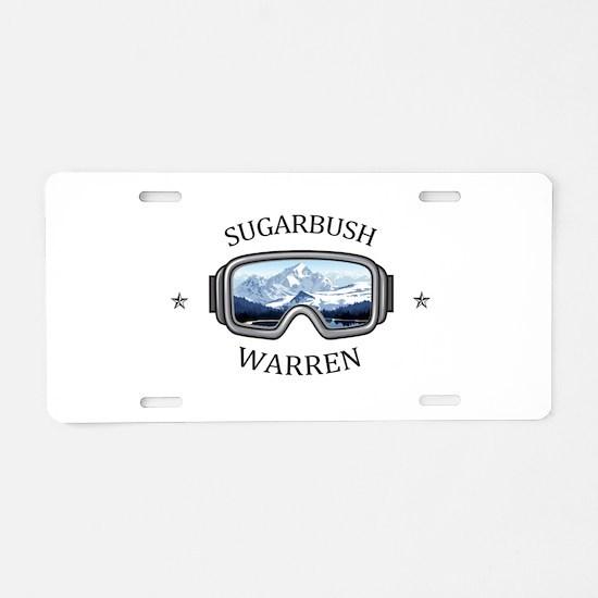 Sugarbush Resort - Warren Aluminum License Plate
