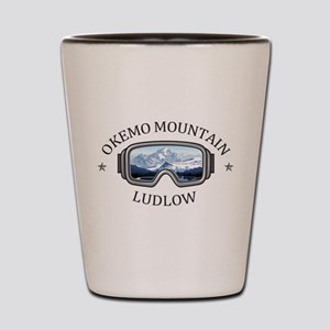 Okemo Mountain - Ludlow - Vermont Shot Glass