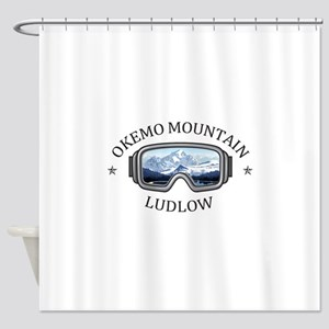 Okemo Mountain - Ludlow - Vermont Shower Curtain