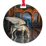 Pegasus Round Ornament