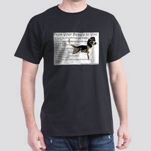 A Beagle's letter to you T-Shirt