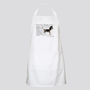 A Beagle's letter to you Light Apron