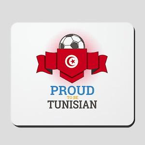 Football Tunisia Tunisians Soccer Team S Mousepad
