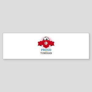 Football Tunisia Tunisians Soccer T Bumper Sticker