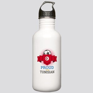 Football Tunisia Tunis Stainless Water Bottle 1.0L
