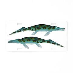Cymbospondylus Aluminum License Plate