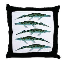 Cymbospondylus Throw Pillow