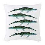Cymbospondylus Woven Throw Pillow