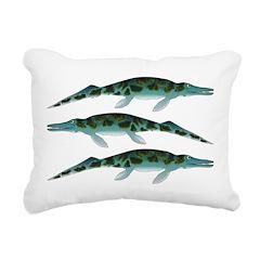 Cymbospondylus Rectangular Canvas Pillow