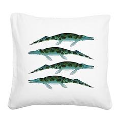 Cymbospondylus Square Canvas Pillow