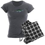Cymbospondylus Women's Charcoal Pajamas
