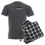 Cymbospondylus Men's Charcoal Pajamas