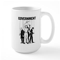 Government Marionette Large Mug