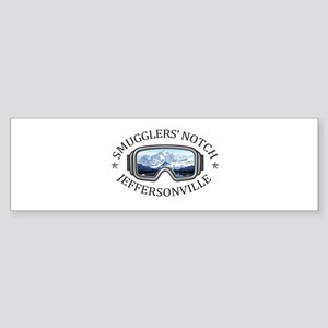 Smugglers' Notch - Jeffersonville Bumper Sticker