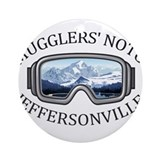 Smugglers notch Round Ornaments