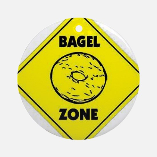 Bagel Zone Ornament (Round)