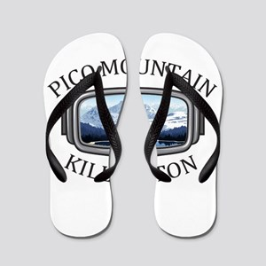 Pico Mountain - Killington - Vermont Flip Flops