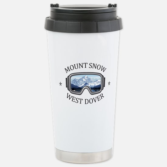 Mount Snow - West Dov Stainless Steel Travel Mug