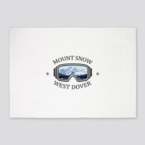 Mount Snow - West Dover - Vermont 5'x7'Area Rug