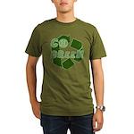 Go Green Recycle Organic Men's T-Shirt (dark)