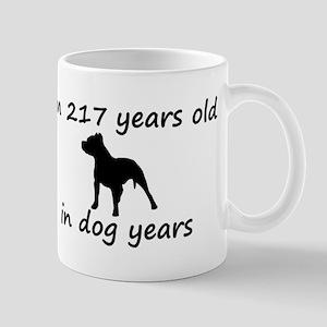 31 Dog Years Pitbull 2 Mugs