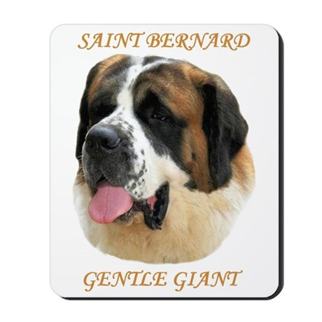 SAINT BERNARD - GENTLE GIANT Mousepad