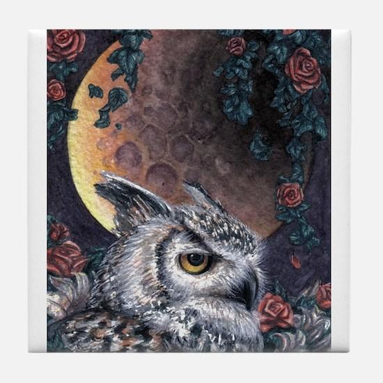 Night Magic Tile Coaster