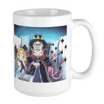 Queen of Hearts Large Mug