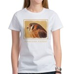American Kestrel Women's Classic White T-Shirt