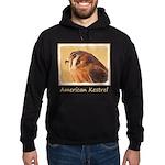 American Kestrel Hoodie (dark)