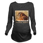 American Kestrel Long Sleeve Maternity T-Shirt
