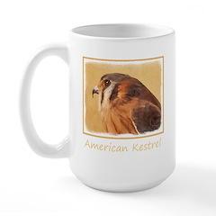 American Kestrel Large Mug