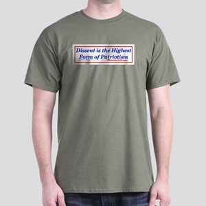 Dissent is Patriotic - Dark T-Shirt