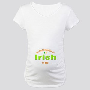 Our Next Irish Generation In Me! Maternity T-Shirt
