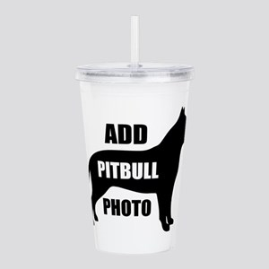 Custom Golden Retrieve Acrylic Double-wall Tumbler