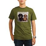 Valuable Pet Lesson #4 Organic Men's T-Shirt (dark