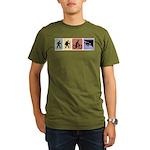 Multi Sport Guy Organic Men's T-Shirt (dark)