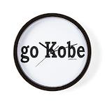 go Kobe Wall Clock