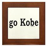 go Kobe Framed Tile